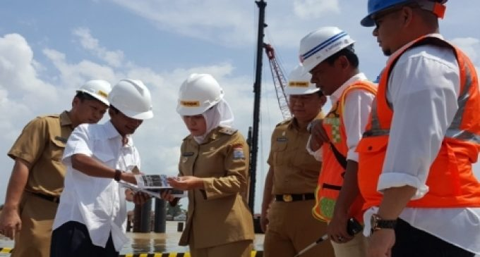 Wawako Tinjau Pembangunan Jembatan Musi IV dan Pompanisasi Sungai Bendung