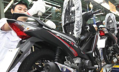 Inilah Desain Stripe Baru Honda Supra X 125 FI