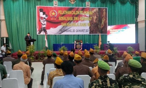 30 Legiun Veteran Ikuti Pelatihan Sosialisasi Semangat Juang Dan Nilai-Nilai 45