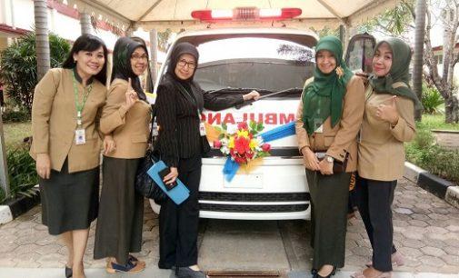 RSMH Palembang Terima Bantuan CSR Mobil Ambulance