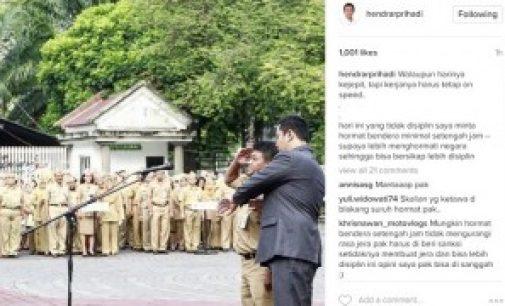 "Lalai ""Harpitnas"" Wako Semarang Hukum ASN Hormat Bendera Setengah Jam"
