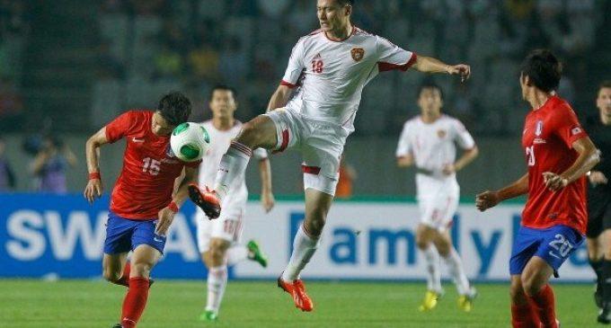 Jaga Asa Ke Piala Dunia 2018, Cina Tekuk Korsel 1-0