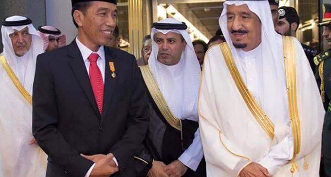 Tiba Istana Bogor, Raja Salman di Sambut Hujan Deras