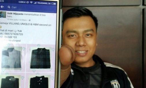 Bisnis Online Pakaian Bekas Kini Digandrungi Wong Palembang