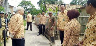 90 % Pembangunan Jalan Lingkungan Terealisasi