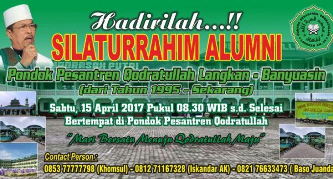 Gelar Silaturahmi, Ponpes Qodratullah Langkan Songsong Reuni Akbar 2018