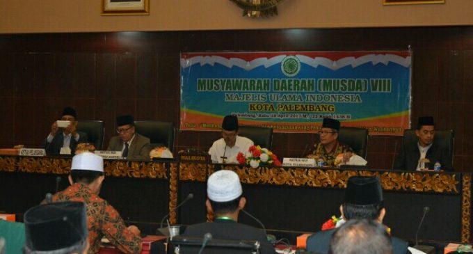 Aflatun Muchtar : MUI kota Palembang Wajib Dukung Program Palembang Emas