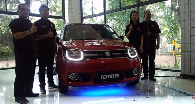 Suzuki IGNIS Resmi Launching di Palembang