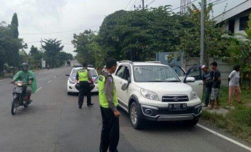 Anggota Sat Lantas Tuban Ditembaki Saat Hentikan Sebuah Mobil