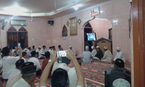 Jamaah Subuh Terpukau Lihat Video Pembangunan Palembang