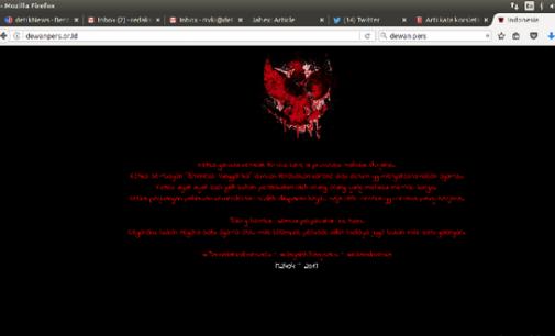 Situs Dewan Pers Dan Kejagung Diretas Hacker
