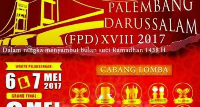 Debu Dijadwalkan Tampil Dalam Festival Palembang Darussalam XVIII