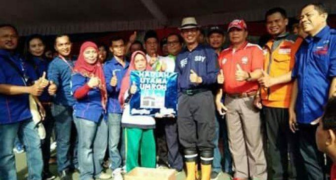 Rezeki Jalan Sehat, Nurhayati Dapat Hadiah Umroh