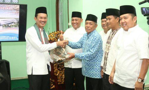Jemaah Masjid Silahturahmi Doakan Wako dan Wawako Sehat selalu