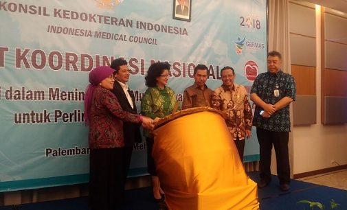 Menkes Buka Rakornas KKI di Palembang