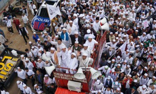 Massa Aksi 505 Batal Long March, Hanya Kirim 10 Perwakilan Ke MA