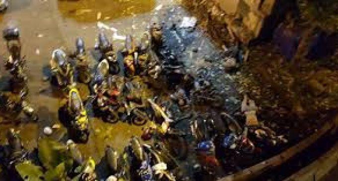 Ledakan di Kampung Melayu, Bagian Tubuh Diduga Pelaku Bom Tercerai Berai