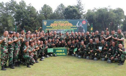 Yonif Raider 200 Raih Runner – Up Lomba Peleton Tangkas TNI AD