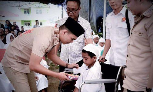 TIDAR Sumsel Gelar Pasar Murah Dan Santuni Anak Yatim