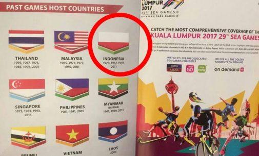 Insiden Bendera Terbalik, Netizen : Balas di Asian Games 2018