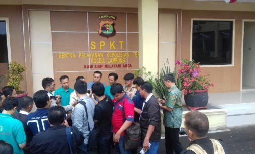 Lecehkan Profesi Wartawan, IWO Propamkan Kapolres Waykanan