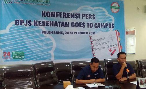 Edukasi Mahasiswa Soal Pola Hidup Sehat, BPJS Kesehatan Palembang Sambangi Unsri