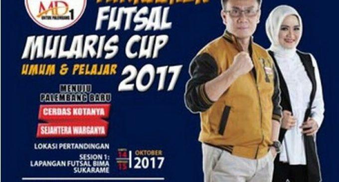 41 Tim Futsal Rebut Piala Mularis Djahri Cup