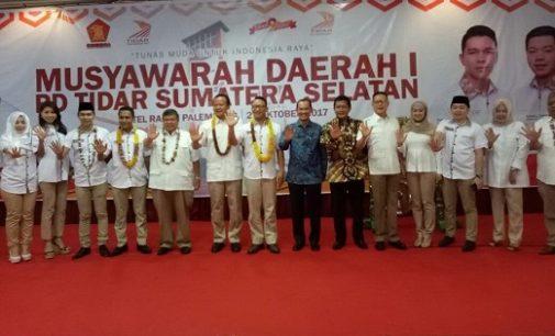 Edhy Prabowo Isyaratkan Gerindra Akan Usung Harnojoyo di Pilkada Kota Palembang