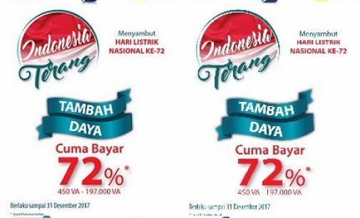 Promo Indonesia Terang 2017 PLN Berikan Diskon Biaya Penyambungan Tambah Daya