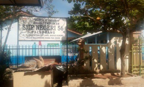 SMP Negeri 56 Palembang Butuh Perhatian Untuk Pembangunan Ruang Kelas Baru Dan Musholah.