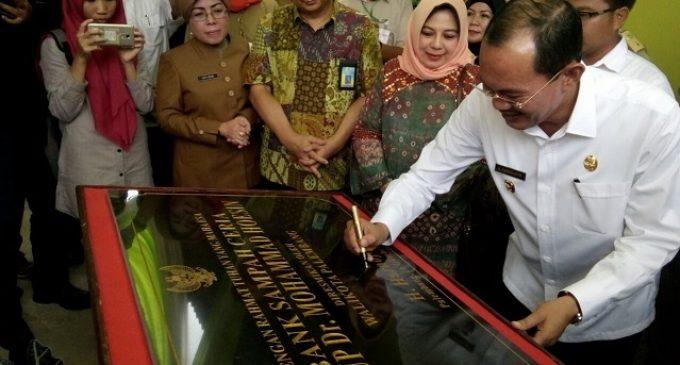 Walikota Palembang Resmikan Bank Sampah Ceria RSMH