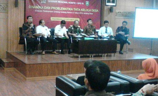 DPD RI Ingatkan Kades Harus Cermat Kelola Dana Desa