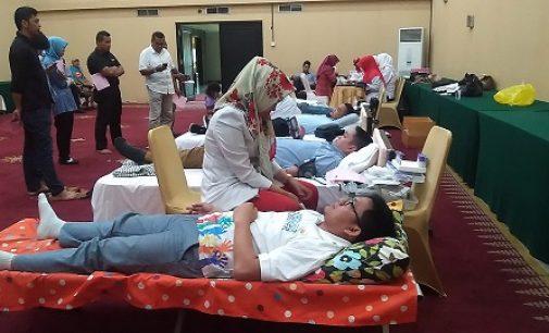 Grand Inna Daira Palembang Kembali Gelar Bakti Sosial Donor Darah