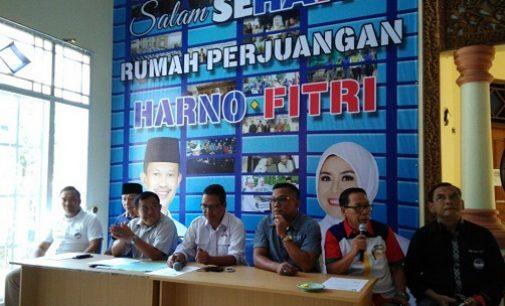 PAN, PPP Dan PBB Serahkan Dukungan Untuk Harno – Fitri