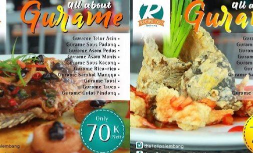 Hanya 70K, Nikmati Promo Gurame THE 1O1 Palembang Rajawali