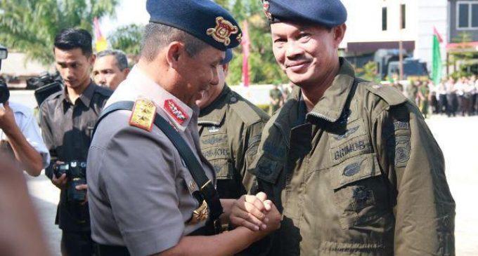 Harnojoyo Jadi Warga Kehormatan Korps Brimob