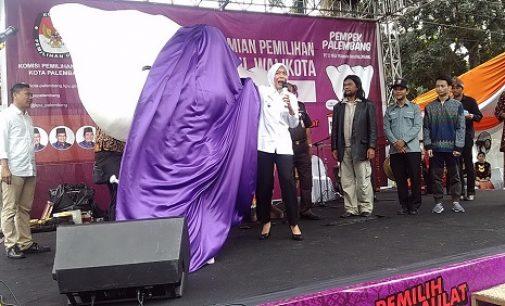 Launching Pilkada Serentak Bernuansa Budaya Lokal