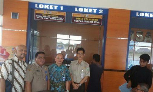 Pastikan Pelayanan Berjalan Baik, Kacab Jasa Raharja Sumsel Tinjau Kantor Samsat Palembang II