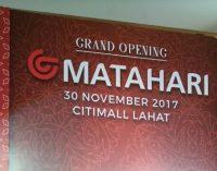 Insan Pers Kecewa Dengan EO Grand Opening Matahari di Citimall Lahat