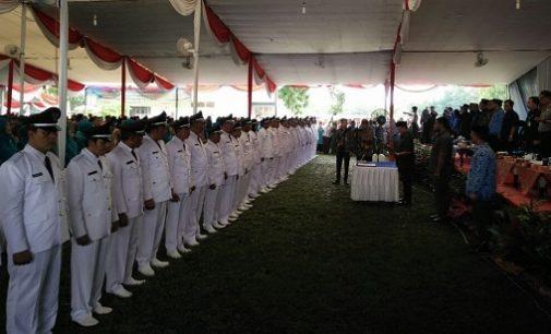 37 Kades Hasil Pemilihan Serentak di 13 Kecamatan Resmi Dilantik