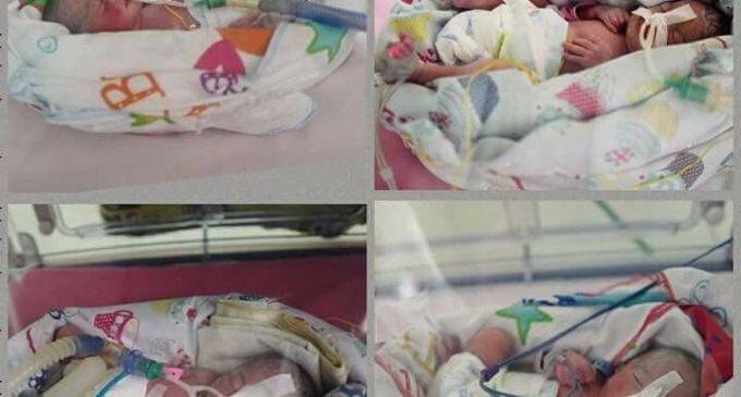 Pasien Inseminasi RSMH Palembang Lahirkan Bayi Kembar Empat