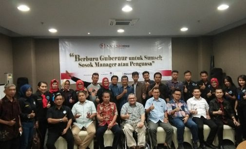 Urun Rembug SPK5 Dan Dusun Demokrasi Bahas Sosok Pemimpin Sumsel 2018