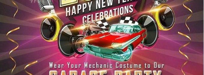 Sambut Tahun Baru Dengan Garage Party Bersama THE 1O1 Palembang Rajawali