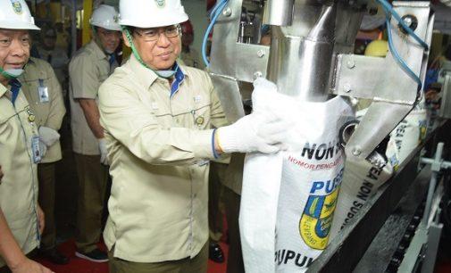 Pengantongan Terakhir Pupuk PT Pusri Produksi 2017