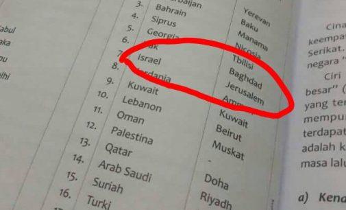 Mahyudin Minta Kemendikbud Segera Tarik Buku Yerusalem Ibu Kota Israel