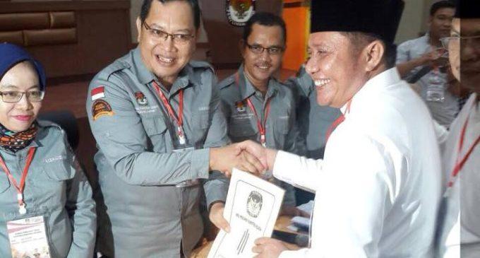 HDMY Paslon Pertama Daftar Ke KPU Sumsel