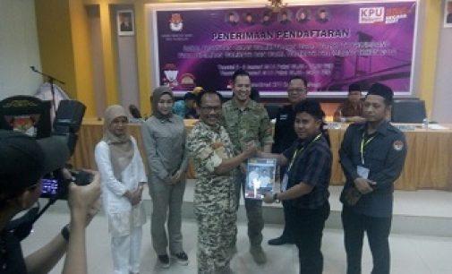 Akhor Resmi Maju Pilkada Palembang Lewat Jalur Independen