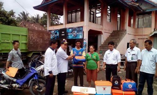 BPBD Muara Enim Berikan Bantuan Pada Korban Kebakaran Desa Belimbing Jaya