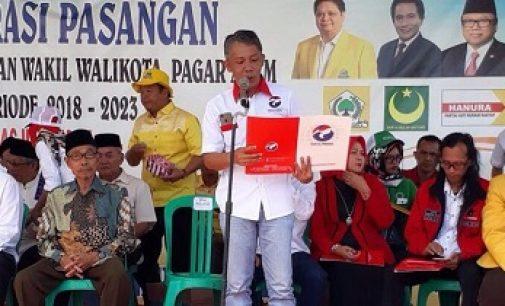 Febuar Rahman Instruksikan Kader Perindo Berjibaku Menangkan Pasangan IdaMan