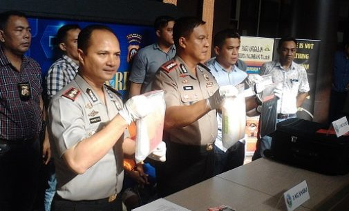 Polresta Palembang Ungkap Kasus Peredaran Sabu Senilai Rp 3,6 Milyar